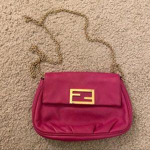 Fendi Pochette Crossbody Bag in Pink